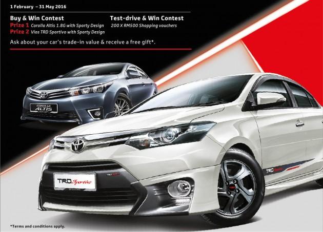 Toyota Promotion Feb 2016 onwards CNY 2