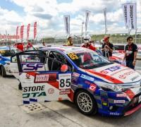 Toyota Vios one-make race
