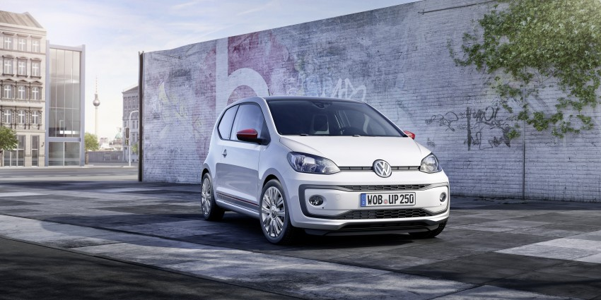 Volkswagen up! facelift unveiled with new 1.0 TSI mill Image #445985