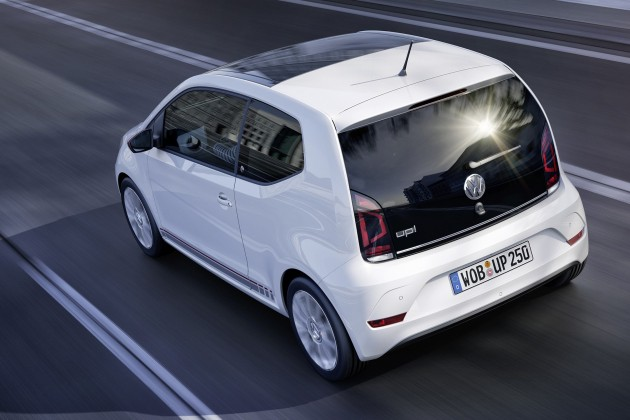 volkswagen up facelift unveiled with new 1 0 tsi mill. Black Bedroom Furniture Sets. Home Design Ideas