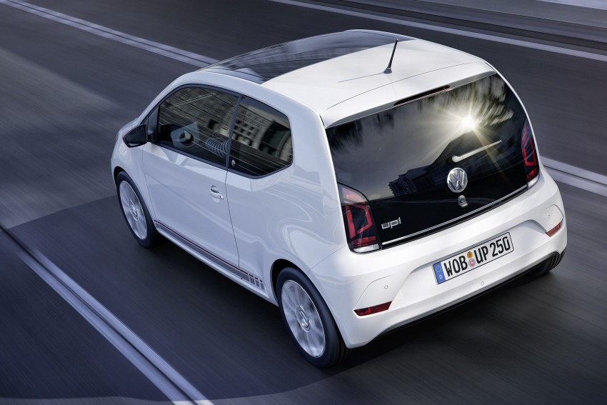 Volkswagen up! facelift unveiled with new 1.0 TSI mill Image #445991