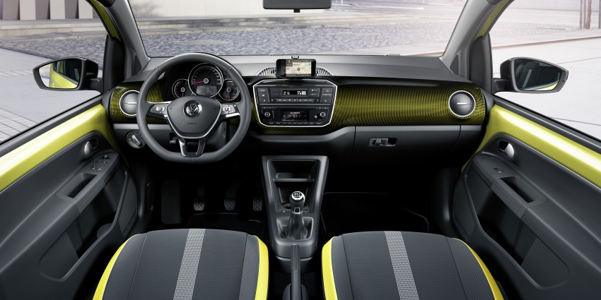 Volkswagen up! facelift unveiled with new 1.0 TSI mill Image #445973