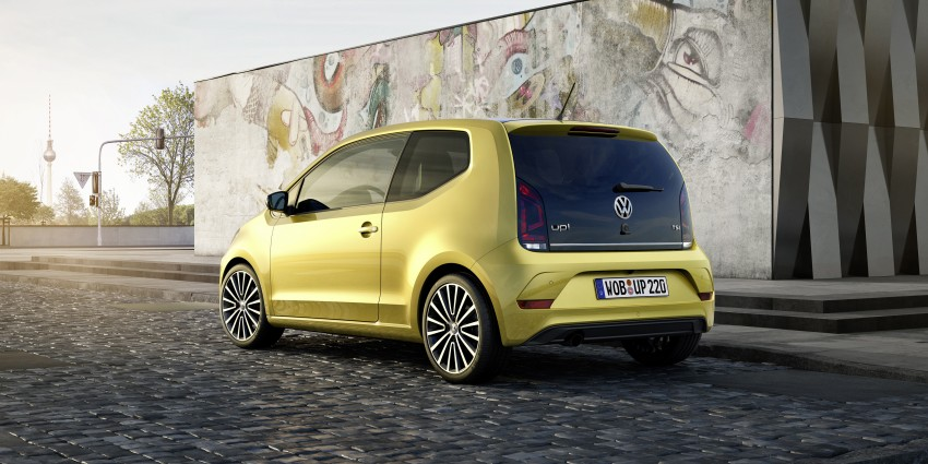 Volkswagen up! facelift unveiled with new 1.0 TSI mill Image #445964