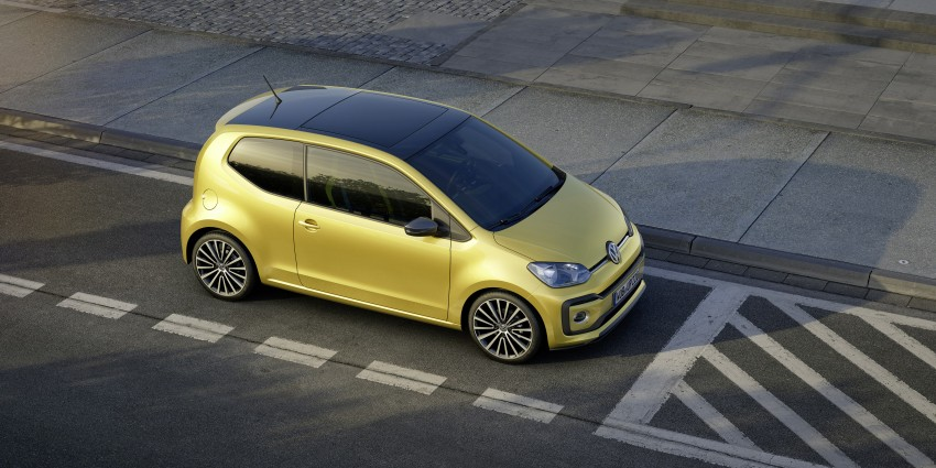 Volkswagen up! facelift unveiled with new 1.0 TSI mill Image #445965