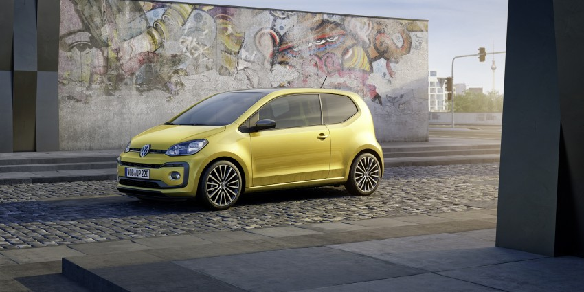 Volkswagen up! facelift unveiled with new 1.0 TSI mill Image #445966