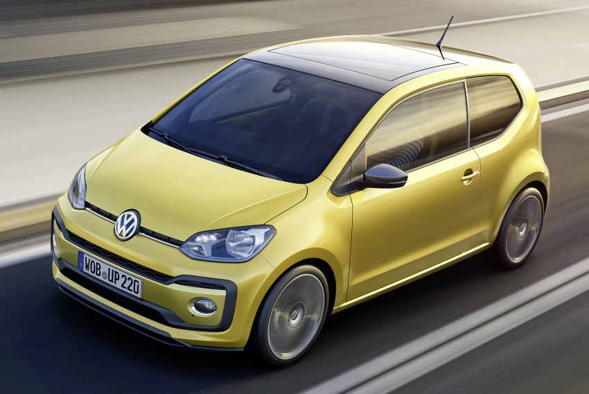 Volkswagen up! facelift unveiled with new 1.0 TSI mill Image #445967