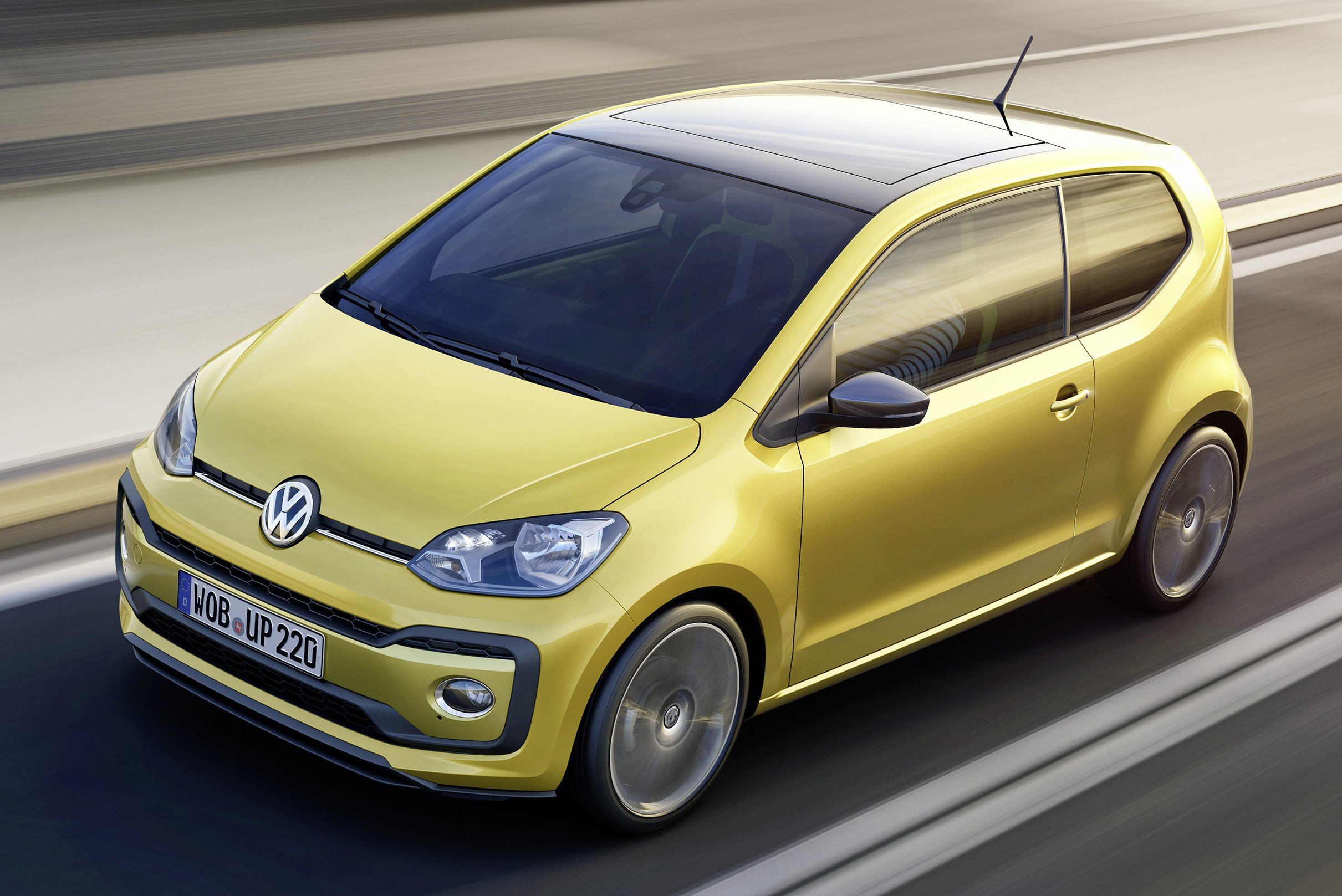 volkswagen up facelift unveiled with new 1 0 tsi mill image 445967. Black Bedroom Furniture Sets. Home Design Ideas