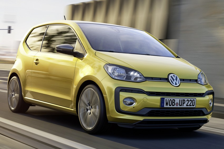 Volkswagen up! facelift unveiled with new 1.0 TSI mill Image #445968