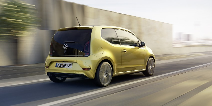 Volkswagen up! facelift unveiled with new 1.0 TSI mill Image #445969