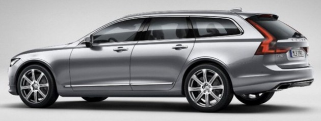 Volvo V90 leaked 3