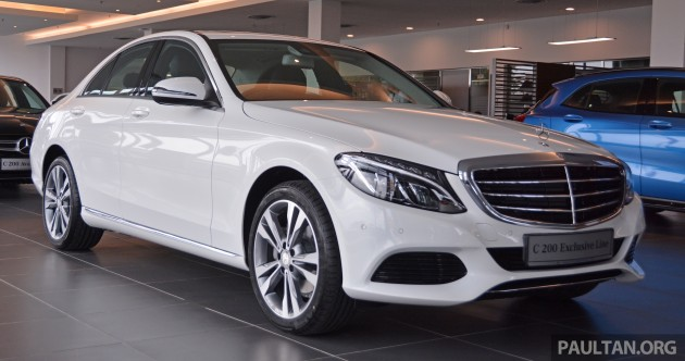 W205 Mercedes Benz C200 Exclusive In M Sia Rm253k