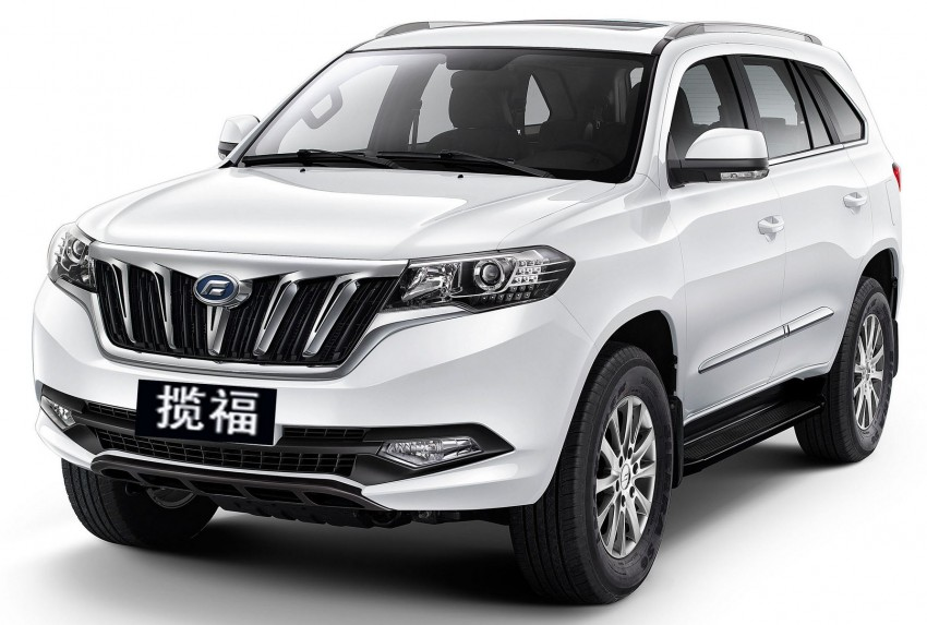 New Malaysian brand SAF to launch April – Striker pick-up and Landfort SUV based on Foday models Image #450810