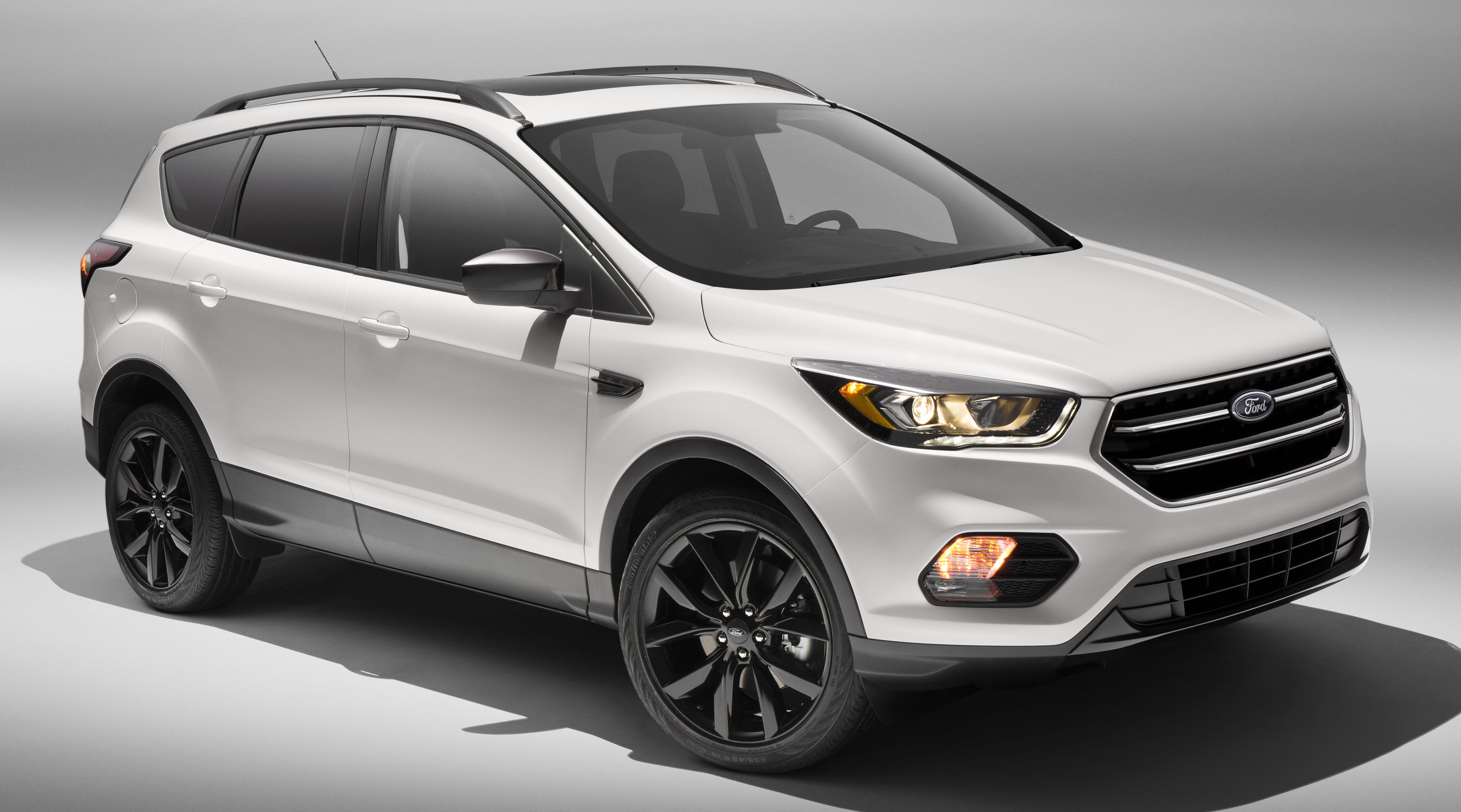 Ford Escape Titanium >> Ford Kuga goes black with Sport Appearance pack