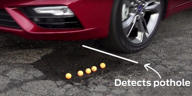 ford pothole detection