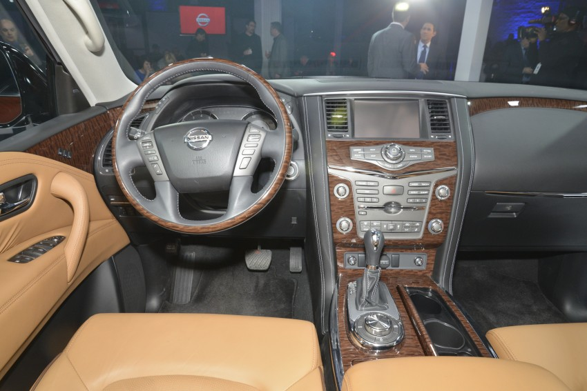 2017 Nissan Armada to debut at Chicago Auto show Image #440546