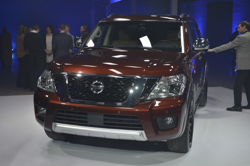 2017 Nissan Armada to debut at Chicago Auto show Image #440547