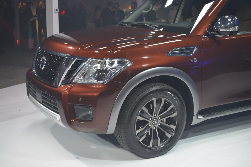 2017 Nissan Armada to debut at Chicago Auto show Image #440550