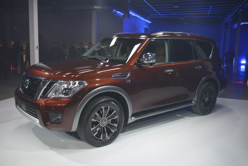 2017 Nissan Armada to debut at Chicago Auto show Image #440551