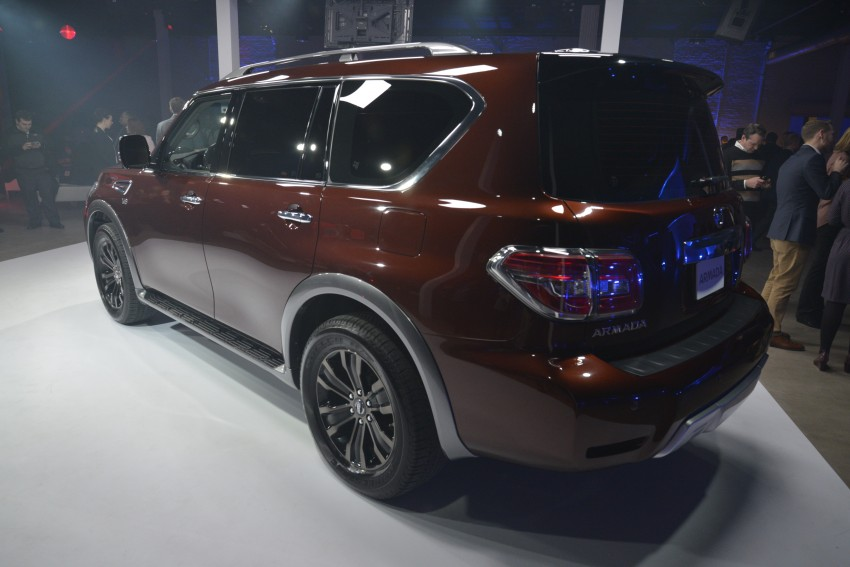 2017 Nissan Armada to debut at Chicago Auto show Image #440552