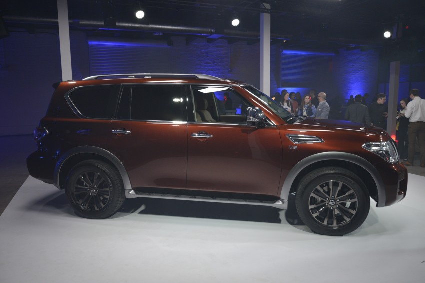 2017 Nissan Armada to debut at Chicago Auto show Image #440555