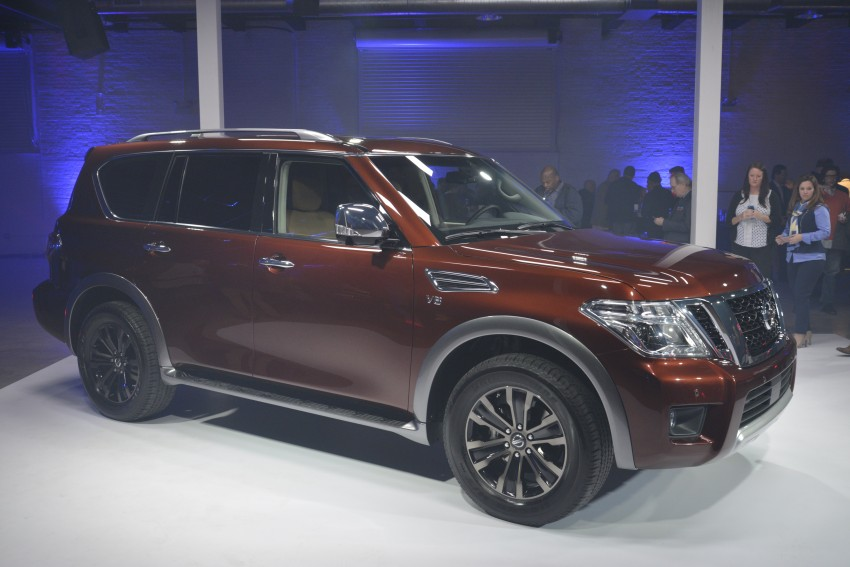 2017 Nissan Armada to debut at Chicago Auto show Image #440557