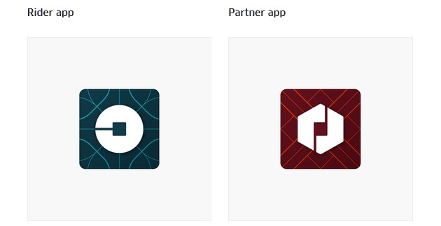 uber new look app icon
