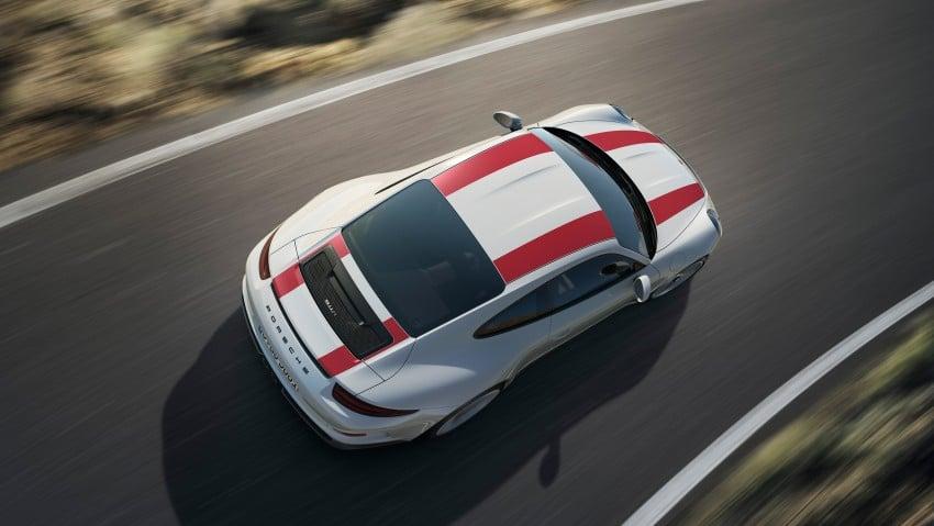 Porsche 911 R makes Geneva debut – 500 hp, manual Image #451914