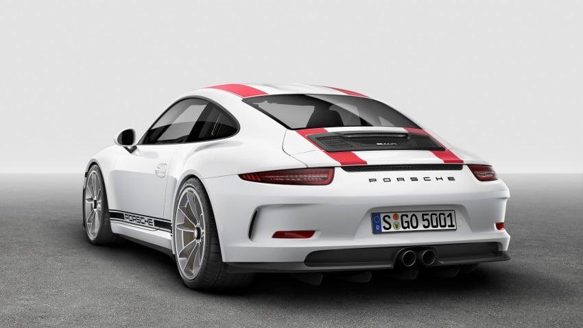 Porsche 911 R makes Geneva debut – 500 hp, manual Image #451920