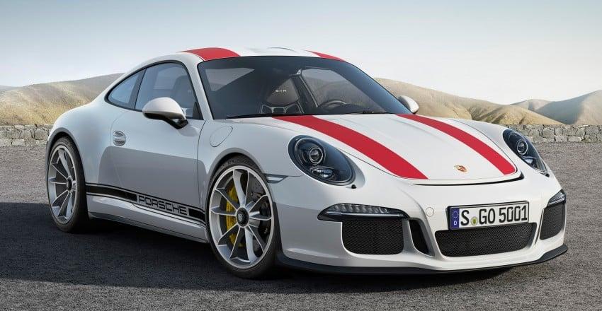 Porsche 911 R makes Geneva debut – 500 hp, manual Image #451922