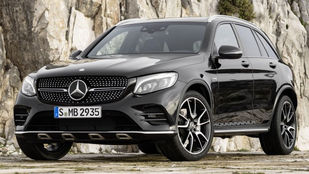 mercedes amg glc43 unveiled ahead of new york. Black Bedroom Furniture Sets. Home Design Ideas
