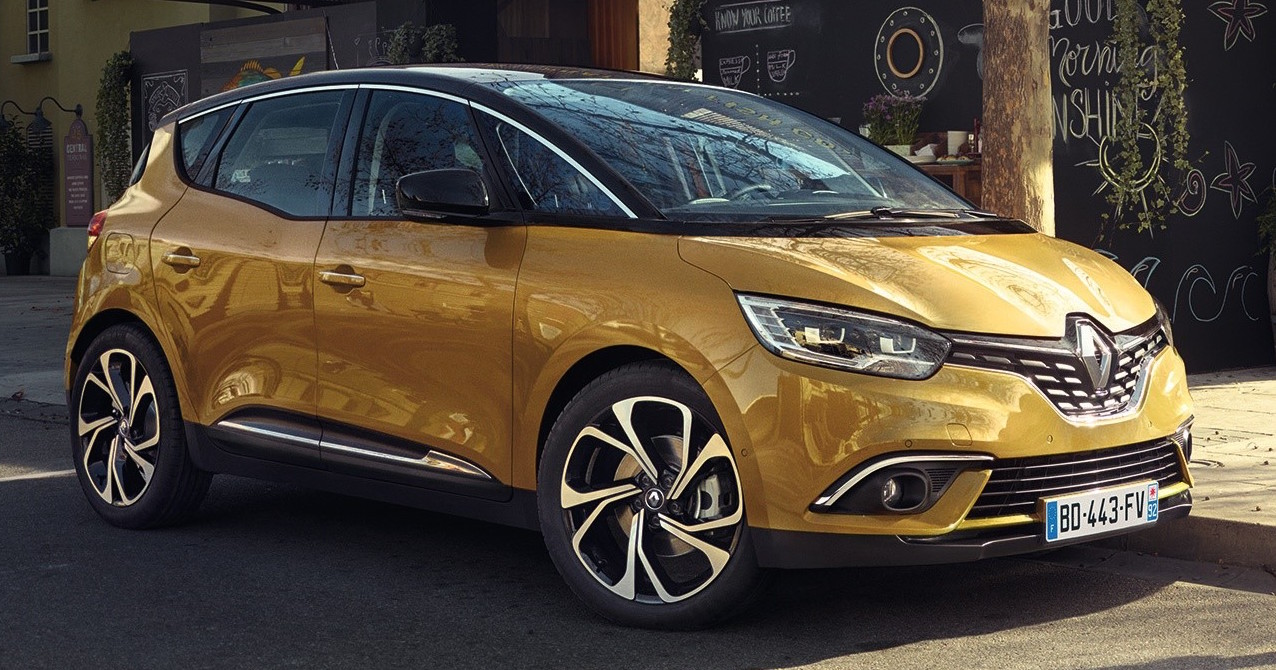 2016 Renault Scenic officially unveiled in Geneva