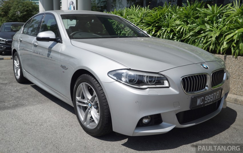2016 BMW 520d M Sport, 520i M Sport, 528i M Sport all updated in Malaysia – EEV prices from RM318k Image #468416