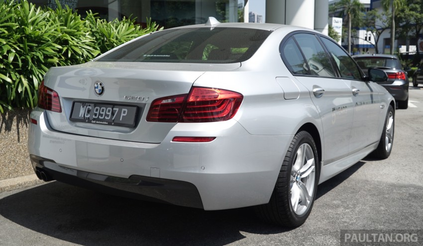 2016 BMW 520d M Sport, 520i M Sport, 528i M Sport all updated in Malaysia – EEV prices from RM318k Image #468417