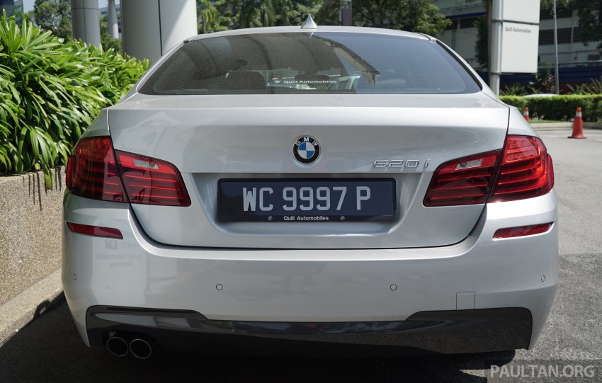 2016 BMW 520d M Sport, 520i M Sport, 528i M Sport all updated in Malaysia – EEV prices from RM318k Image #468419
