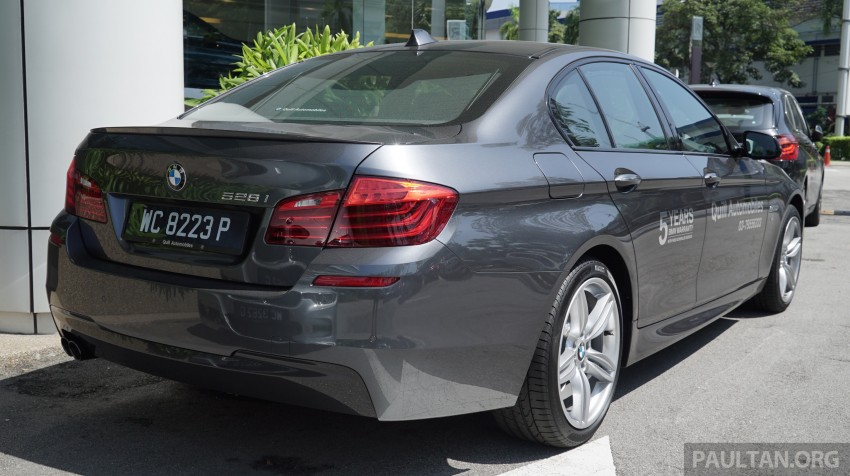 2016 BMW 520d M Sport, 520i M Sport, 528i M Sport all updated in Malaysia – EEV prices from RM318k Image #468425