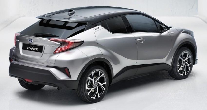 Toyota C-HR versi produksi diperkenalkan secara rasmi – bakal bersaing dengan HR-V Image #452298