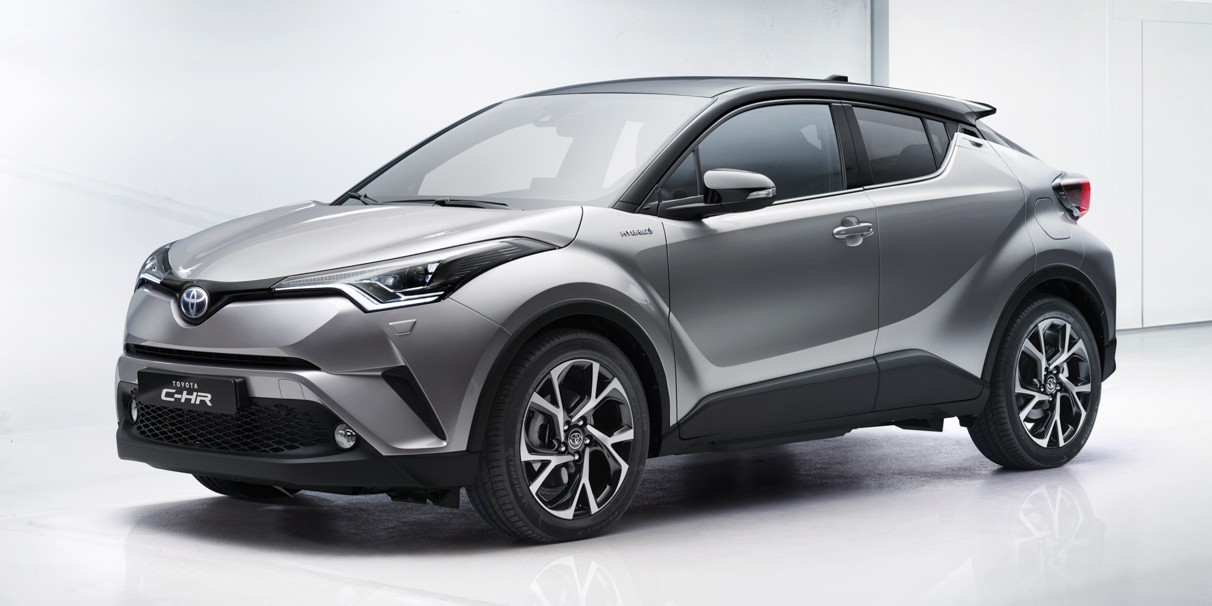 Toyota C Hr Production Hr V Rival Officially Unveiled