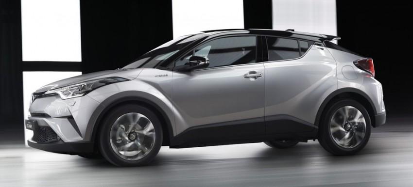 Toyota C-HR versi produksi diperkenalkan secara rasmi – bakal bersaing dengan HR-V Image #452304