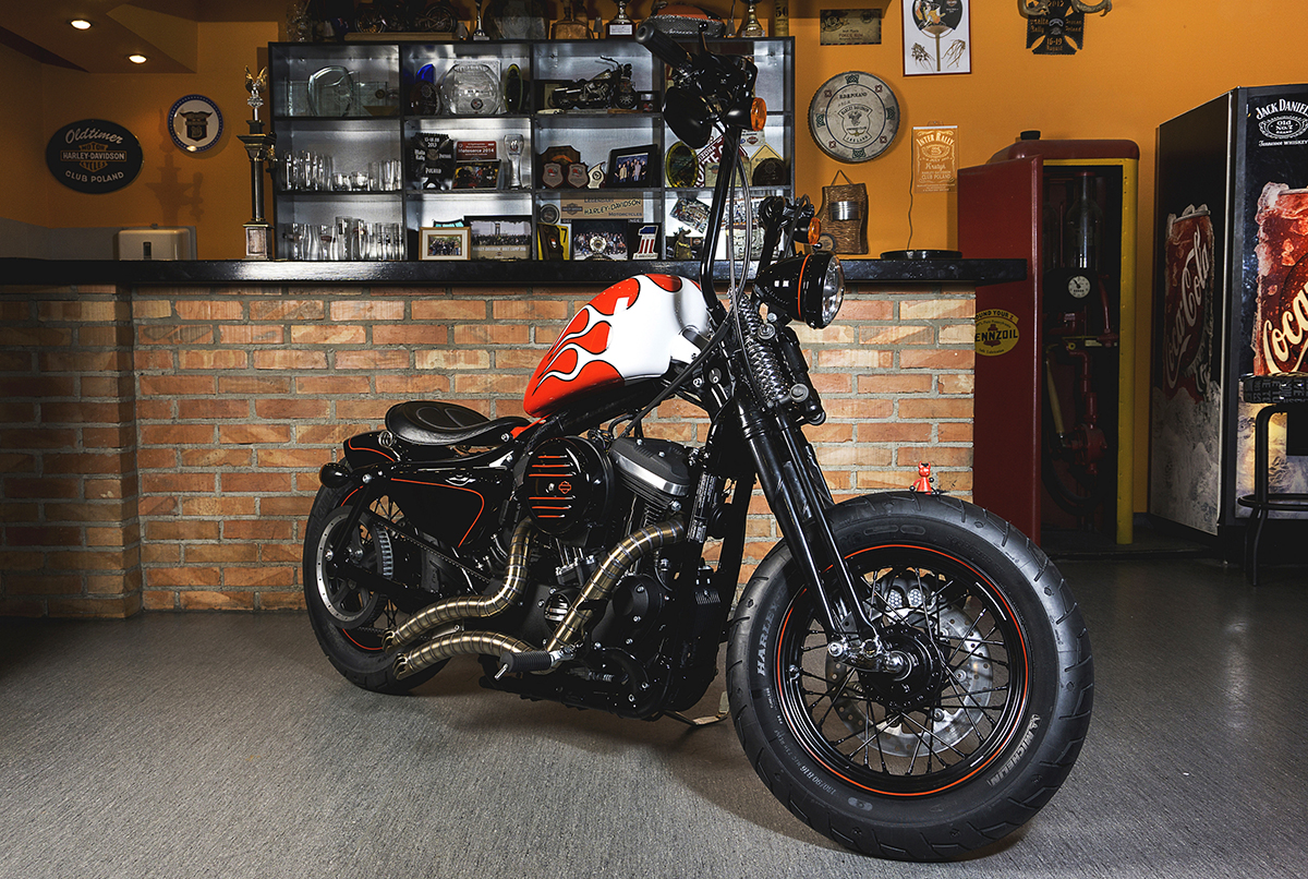 Custom  Harley Davidson Competition