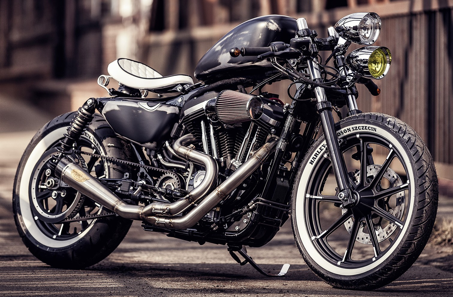 Harley Davidson Sportster  Dark Custom