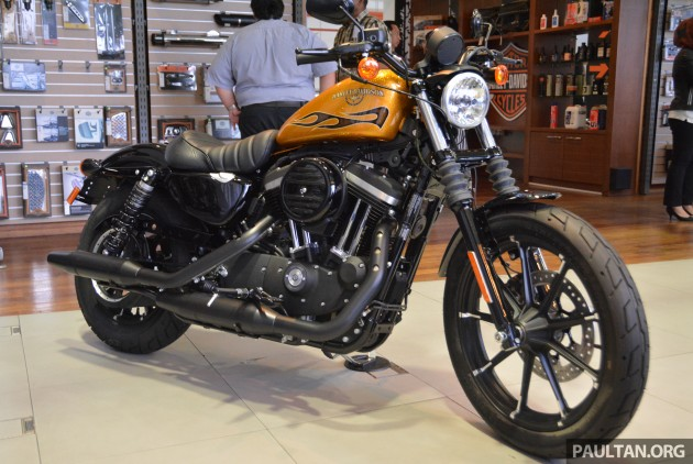 2016 harley-davidson iron 883 and forty-eight dark customs in