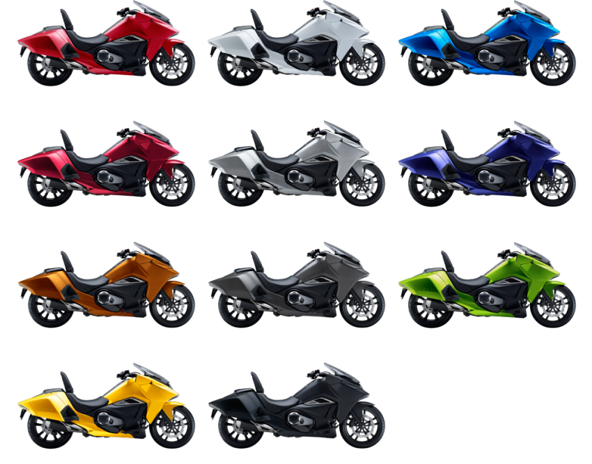 2016 Honda NM4 Vultus now with 11 custom colours Image #451445