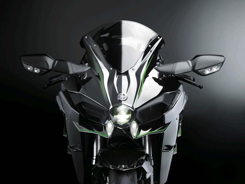 Is a supercharged Kawasaki Ninja R2 coming soon? Image #458608