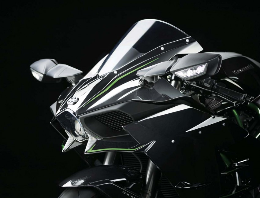 Is a supercharged Kawasaki Ninja R2 coming soon? Image #458626