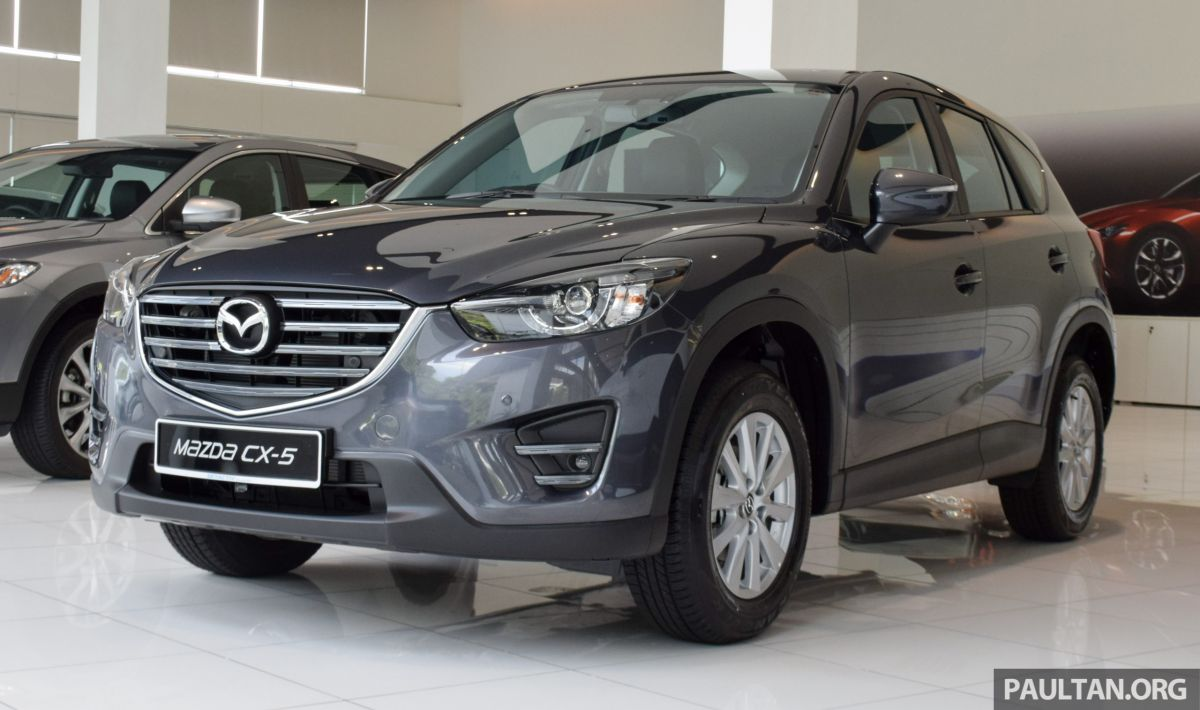 GALLERY: 2016 Mazda CX-5 2 0L - Mid and High Spec