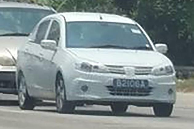 2016 Proton Saga spyshot