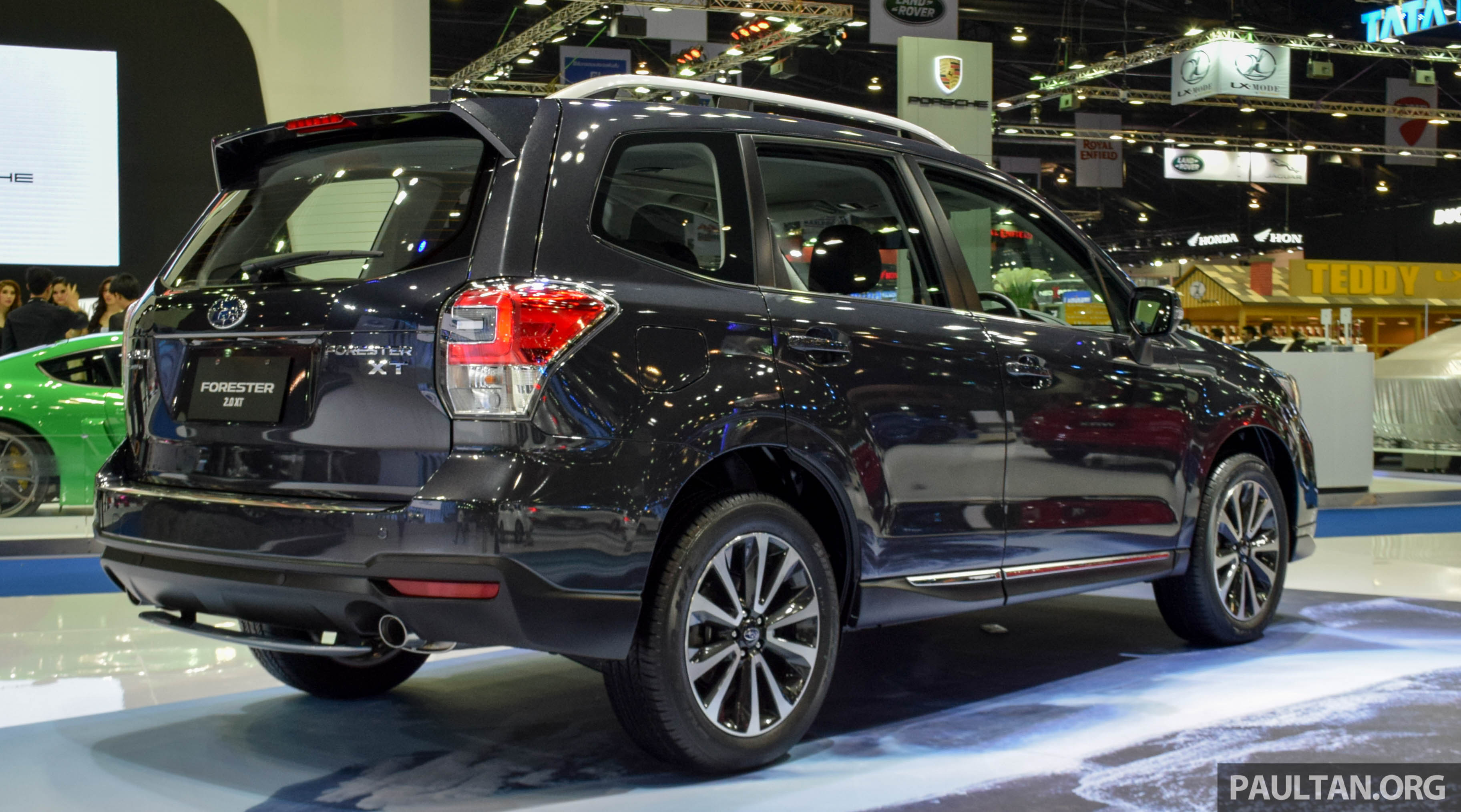 2016 Subaru Forester facelift makes regional debut at Bangkok Motor ...