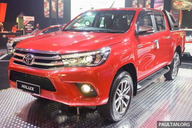 2016 Toyota Hilux preview