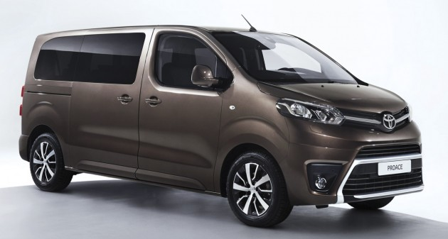 2016 Toyota ProAce Verso 1