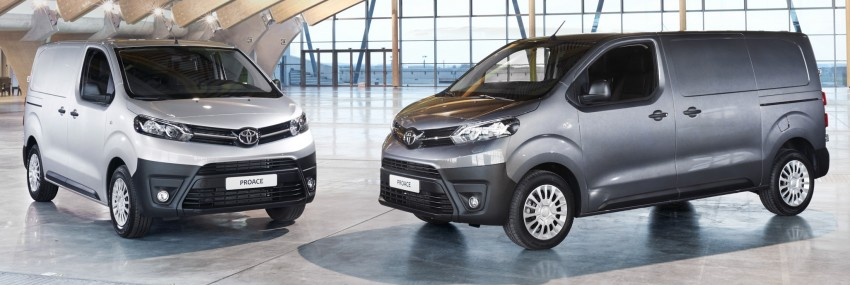 2016 Toyota Proace van makes an official debut Image #469454